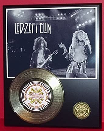 "Amazon.com: Led Zeppelin ""Stairway To Heaven"" 24Kt Gold 45 ..."