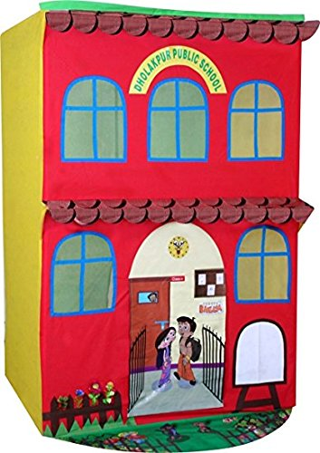 Buy BabyGo Chhota Bheem Dholakpur Public School Tent House For Kids - Large Size Online at Low Prices in India - Amazon.in  sc 1 st  Amazon.in & Buy BabyGo Chhota Bheem Dholakpur Public School Tent House For Kids ...