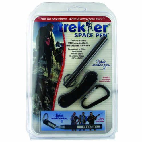 Fisher Space Trekker Space Pen, Matte Black (SC725B)