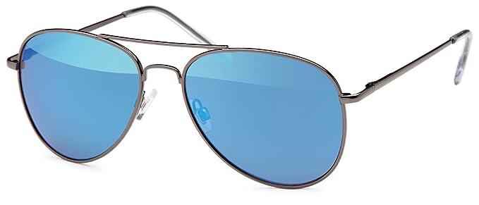 Balinco Gafas De Piloto Gafas de sol Década de los 70 Años Hombres Y Mujeres Gafas de Sol Gafas de aviador reflectante
