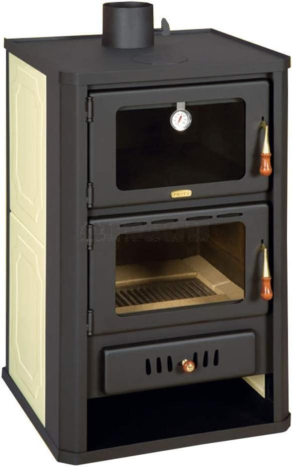 Estufa de Leña 5 + 15Kw Cocina Caldera de Nuevo Estufa Leña de Leña Prity FGW15