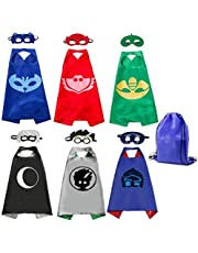 Kids Superhero Capes Set Toys for Boys Girls Party Supplies Christmas Halloween Gifts