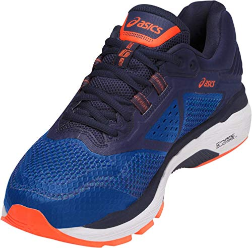 ASICS GT-2000 6 Men's Running Shoe, Imperial/Indigo Blue/Shocking Orange, 6.5 W US by ASICS (Image #3)