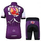 Ateid Children Boys' Girls' Cycling Jersey Set