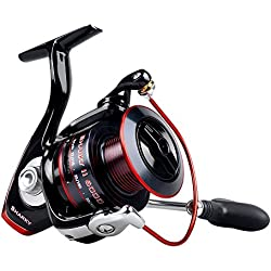 KastKing Sharky II Fishing Reel - Smooth Spinning Reel - 10+1 Superior Ball Bearings-Brass Gears at an Affordable Price