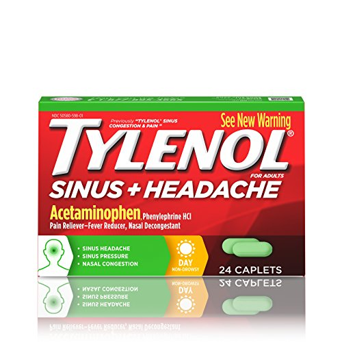 Tylenol Sinus Congestion Caplets Daytime product image