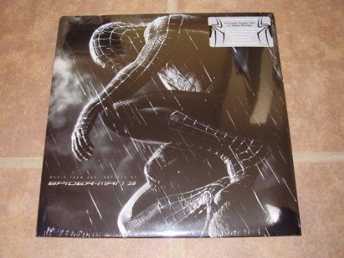 Spiderman 3 Soundtrack Pressed on Red Vinyl Limited Edition 2 Lp Set w/ Alternate Cover