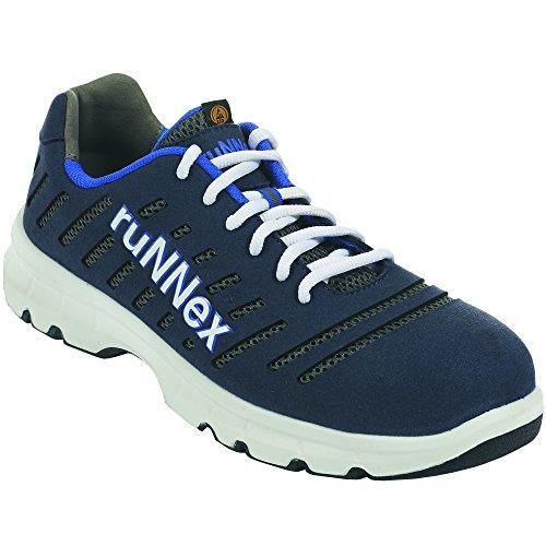 Gris 41 ruNNex Taille 41 de 5173 sécurité Paire FlexStar de Chaussures Blanc Bleu S1P wpx6qOgvw
