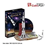 3D Puzzle – Saturn V