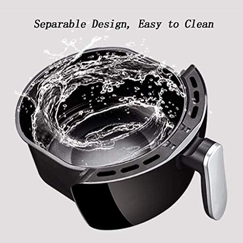 DJYD QQB Elektrische Öl-freies Huhn Friteuse Haushalt Multi-Funktions-Air Fryer einstellbare Temperaturregelung Fryer FDWFN