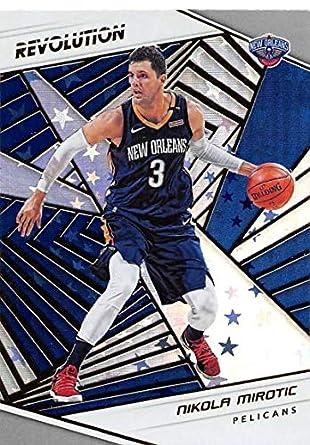 2018-19 Revolution Astro Basketball  13 Nikola Mirotic New Orleans Pelicans  Official NBA Trading 9815b0177