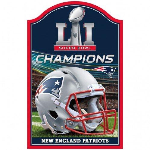 New England Patriots WinCraft Super Bowl LI Champions 11
