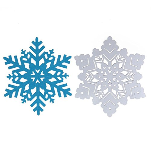 2019 Ethereal Snowflake Die Cutting Dies Handmade Stencils Template Embossing for Card Scrapbooking Craft Paper Decor by E-Scenery -