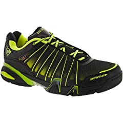 Designed for players seeking the very best in comfort, durability and movement when competing on court, the Dunlop Ultimate Tour Indoor Court Shoe features D3O impact protection technology, with an Anti-drag zone to combat high stress and abr...