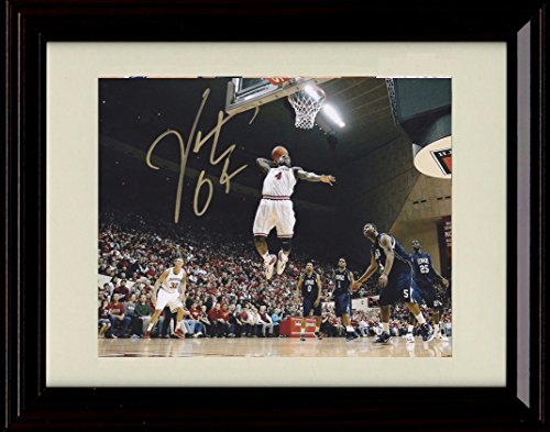 Framed Victor Oladipo Autograph Replica Print - Indiana