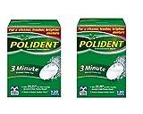 Polident Minute Antibacterial Denture Cleanser