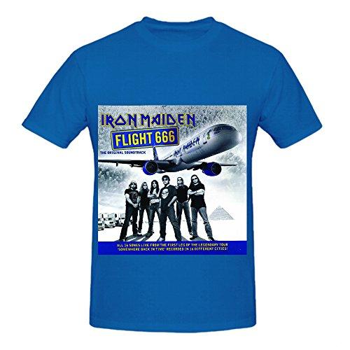 iron-maiden-flight-666-original-soundtrack-funk-album-cover-mens-crew-neck-music-t-shirt-blue
