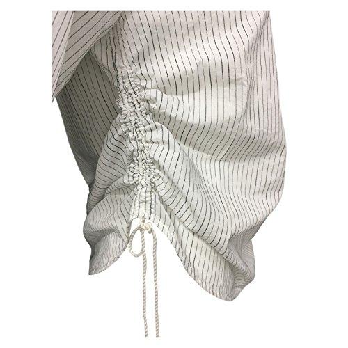 Pennyblack nero righe mezza donna maglia panna cotone 100 EDEN mod manica rSwqfrYxU