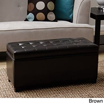 Amazon.com: Tiffany Malm Storage Bench. This Furniture Storage ...
