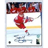 Steve Yzerman Detroit Red Wings Autographed Slapshot 16x20 Photo