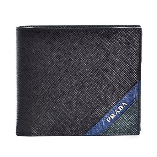 PRADA(プラダ) 財布 サフィアーノ メンズ 二つ折り財布 2MO738 2EGO 575 [並行輸入品] B07B87WCY8