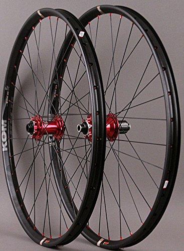 NEW WTB KOM i29 TEAM 29er Mountain Bike Wheelset - TUBELESS COMPATIBLE by WTB Novetec