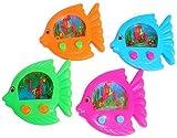 fish water game - Fish Shaped Water Games (1 dz)