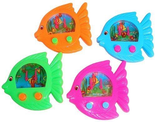 Fish Shaped Water Games (1 dz) ()