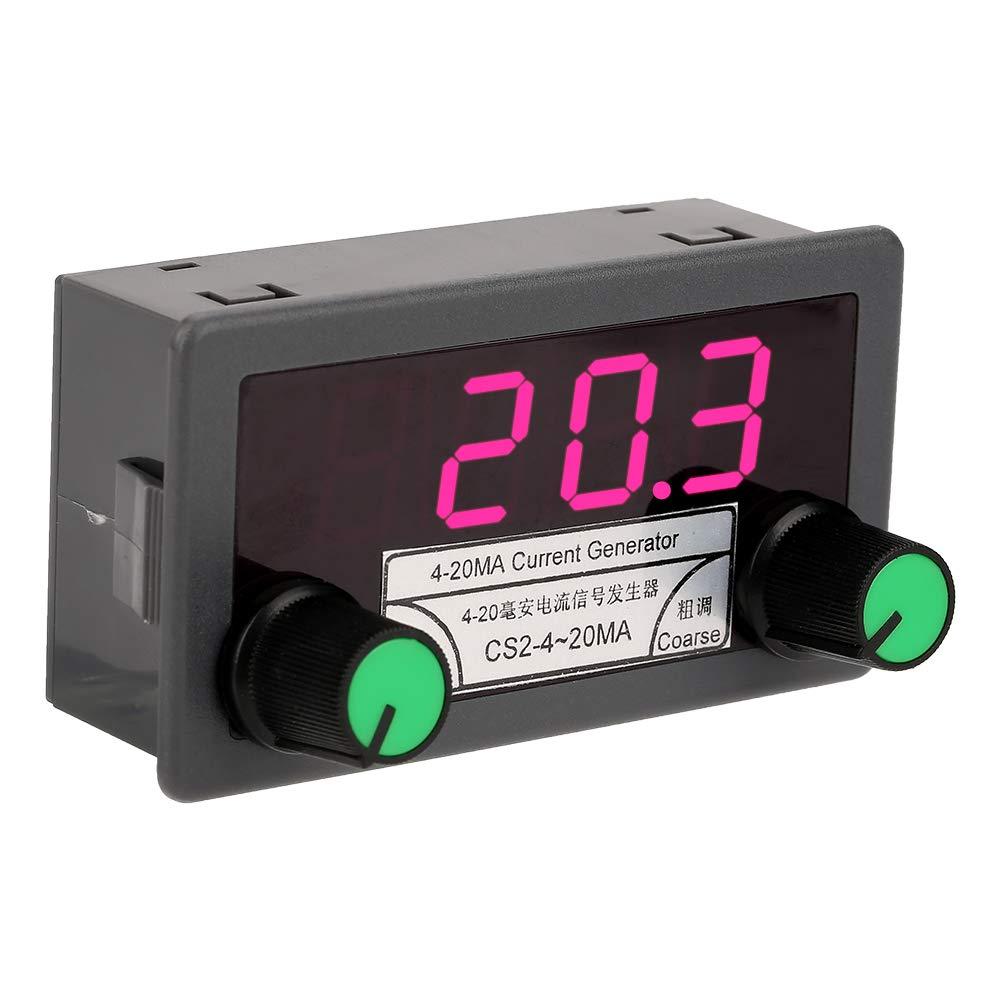 3 d/ígitos Fuente de alimentaci/ón del generador de se/ñal de 4-20 mA pantalla digital LED n/úmero anal/ógico de voltaje de corriente ajustable generador de se/ñal anal/ógica de corriente igital