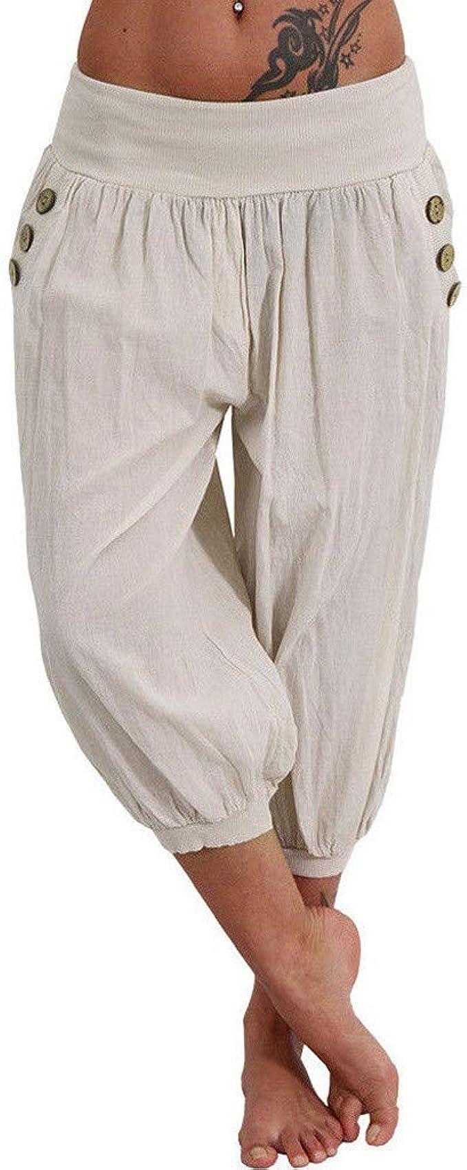 Amazon.com: EINCcm pantalones de yoga de pantalón largo de ...
