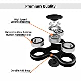 Sensory Mills Fidget Spinner Prime High Speed Hybrid Ceramic Bearings Anti Anxiety Tri-Spinner Helps Focusing Premium Widget Toy Stress Reducer Perfect For ADD ADHD Anxiety and Autism Kids & Adults