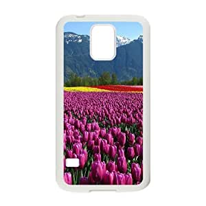 Custom Case Beautiful Tulip for Samsung Galaxy S5 P3A3238267