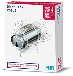 4M - Soda Can Robug, juguete educativo (004M3266)