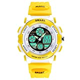 Outdoor Digital Analog Sport Alarm Waterproof Kids Watch for Girls