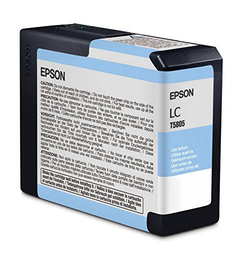 Ultrachrome K3 Light Cyan Ink (Epson T5805 UltraChrome K3 Light Cyan Cartridge Ink)