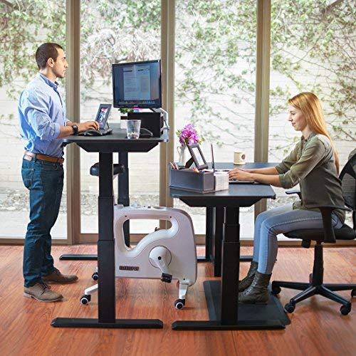 FLEXISPOT Home Office Under Desk Exercise Bike Height Adjustable Cycle - Deskcise Pro by FLEXISPOT (Image #5)