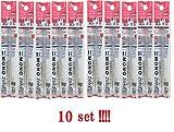 10-packs Tombow Mono Zero Eraser refill ER-KUR Round Tip 10-packs from Japan