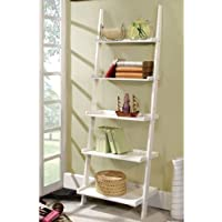 247SHOPATHOME Idf-AC6213WH Bookcases, White