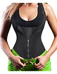 Women's Underbust Corset Waist Trainer Cincher Steel Boned Body Shaper Vest With Adjustable Straps