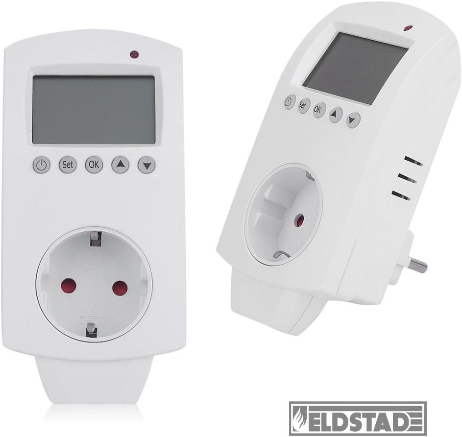 inkl. Thermostat, Hund Eldstad Infrarotheizung 600W Thermostat Bildheizung Heizpaneel Infrarot Heizk/örper Elektro Heizung mit Motiv