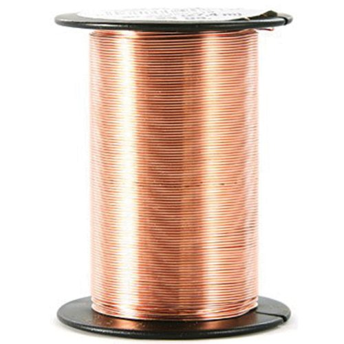 Beadery 24 Gauge Wire 25 Yards/Pkg-Copper ()