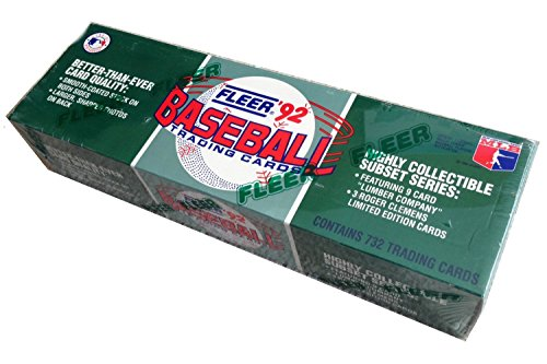 1992 Fleer Baseball Factory Set (732) Sealed ()