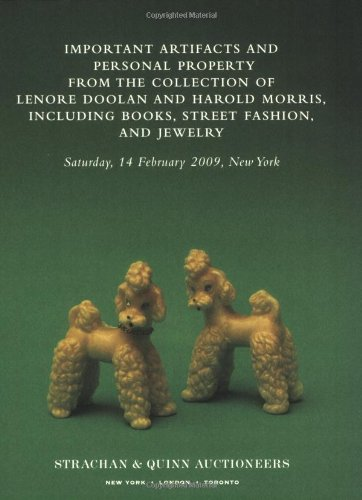 Important Artifacts and Personal Property from the Collection of Lenore Doolan and Harold Morris, Including Books, Stree