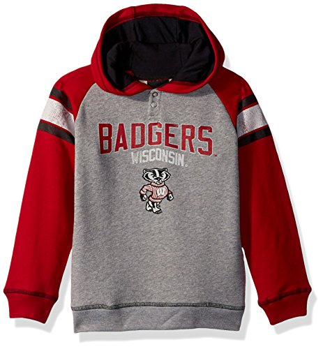 Wisconsin Badgers Ncaa Stripes - NCAA by Outerstuff NCAA Wisconsin Badgers Kids