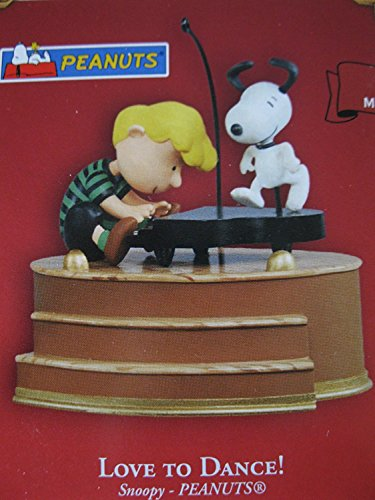 Love to Dance Peanuts Snoopy Magic 2004 Hallmark Ornament