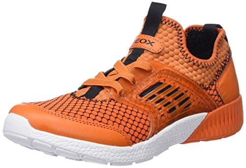 Geox Sveth a, Zapatillas Para Niños Naranja (Orange)