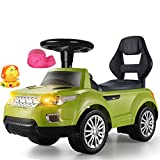Xiao ping Ride on Toy, 4 - Battery Powered Ride-on Toy for Boys and Girls, 1-6 Years Old - Green (Color : Green)