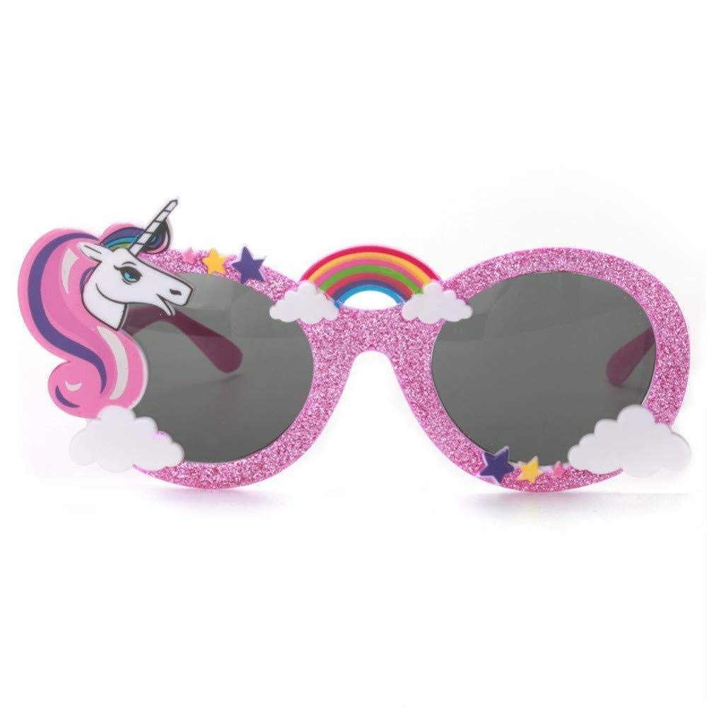 Party Avenue Unicorn Party Sunglasses | 12-Pack Unicorn Shaped Sunglasses Unicorn Kids Party Supplies 6-Blue and 6-Pink Perfect Unicorn Birthday Party Favor