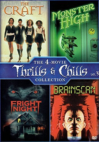 Crafts Monsters (The Craft (1996) / Monster High (1989) / Fright Night (1985) / Brainscan (1994))