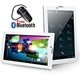 Indigi Unlocked 3G SmartPhone 7'' Tablet PC Android 4.4 Bluetooth WiFi Google Play Store